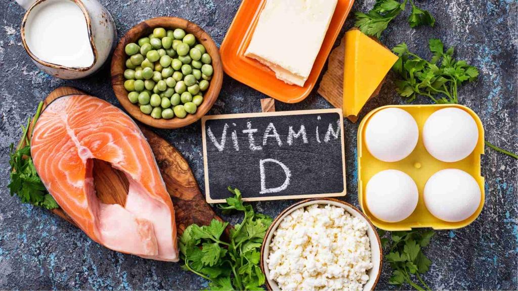продукты содержанием витамина D